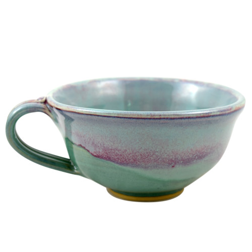 Orchid Green Pottery Collection: Chowder Mug