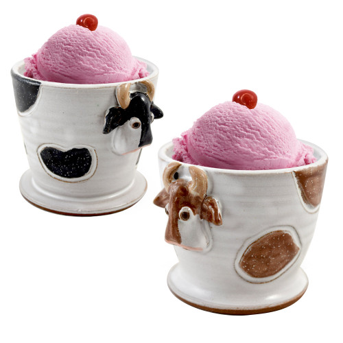 Mootilda Cow Stoneware Ice Cream Bowl