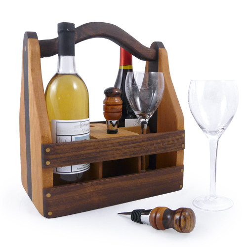 Convertible Wine and Beer Caddy