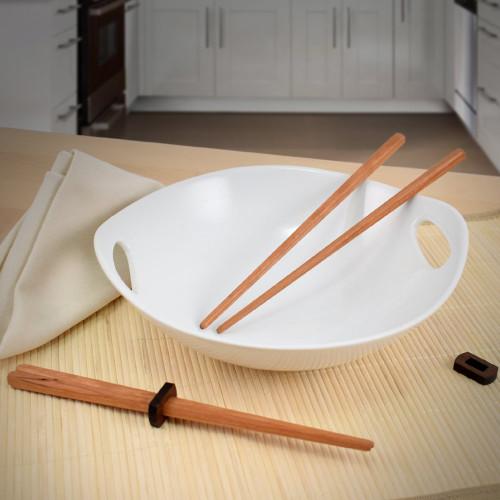 American Hardwood Cherry Chopsticks, Set of 2