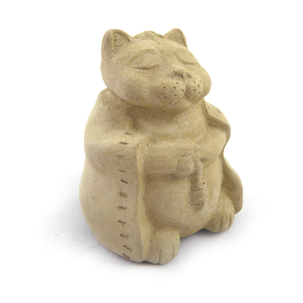 Buddha Cat Mini Desk Pet