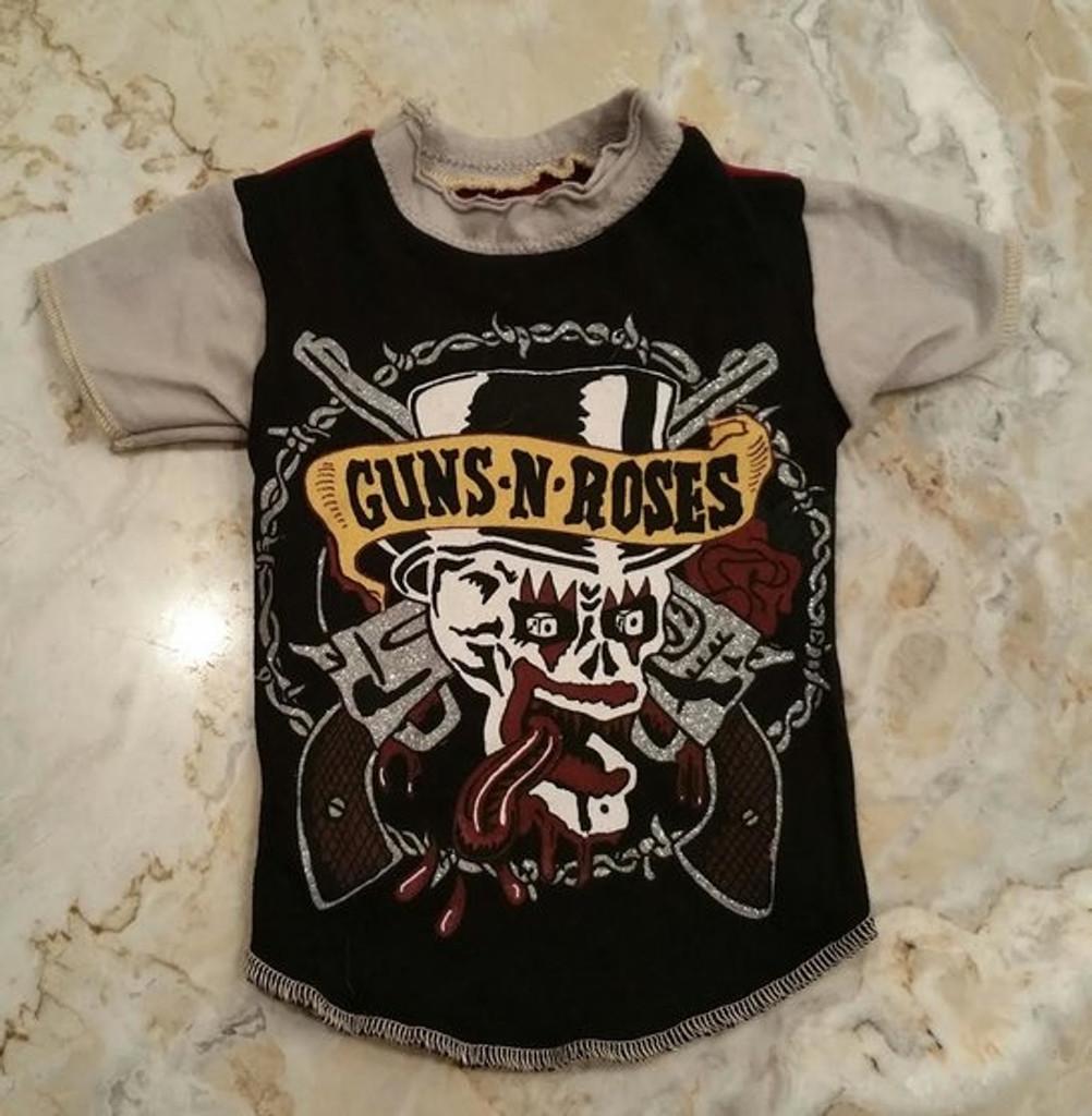 Vintage Guns n Roses Dog Tee