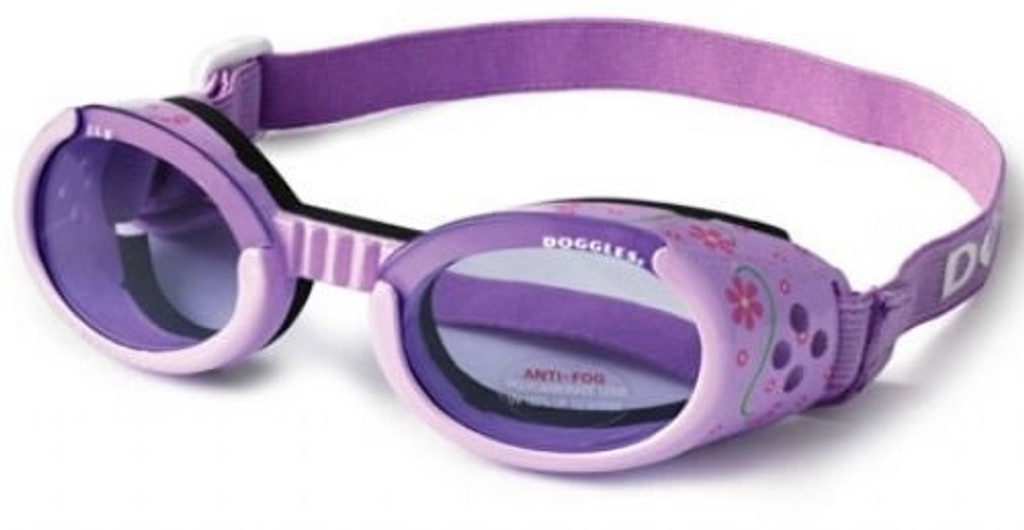 Doggles ILS Lilac Flowers Dog Goggles