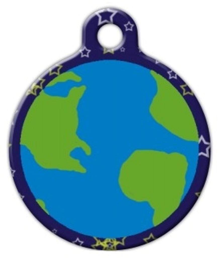 Earth Dog ID Tag