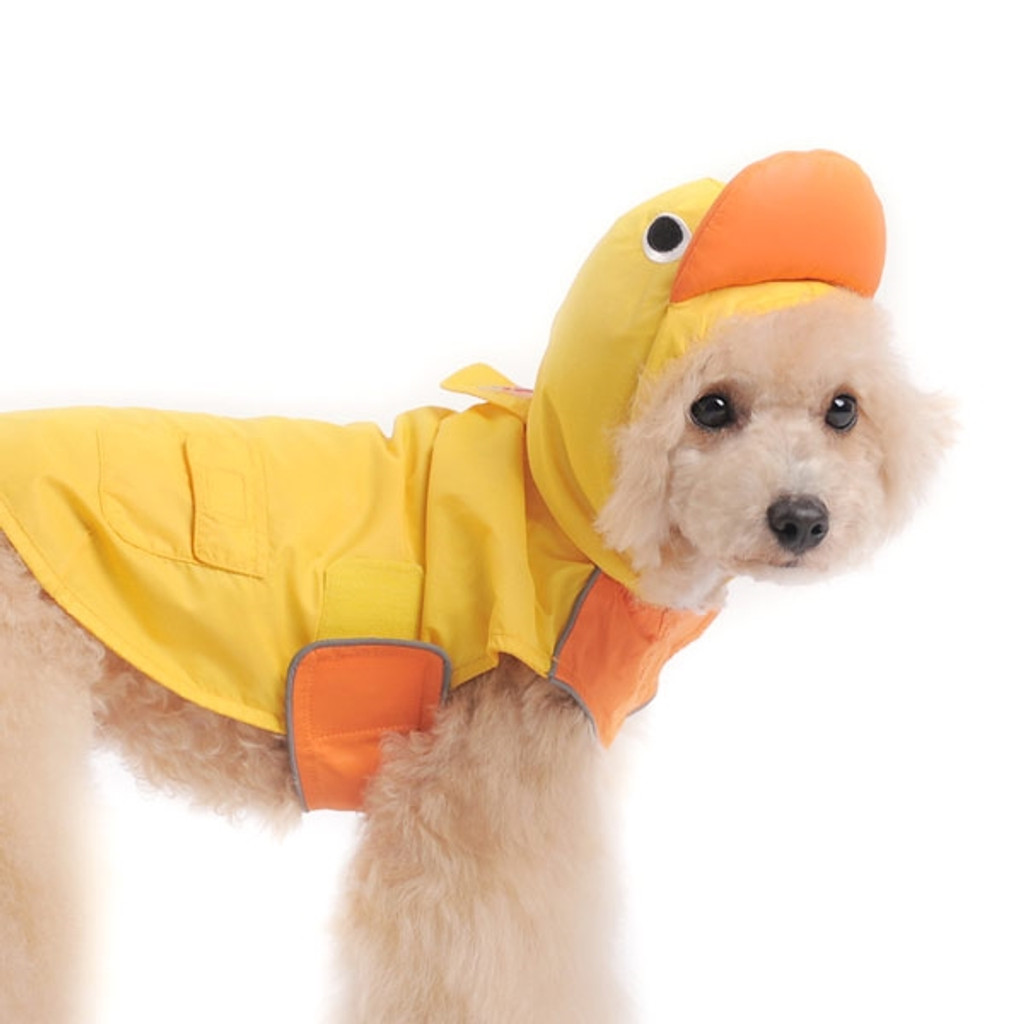 Duck Raincoat for Dogs