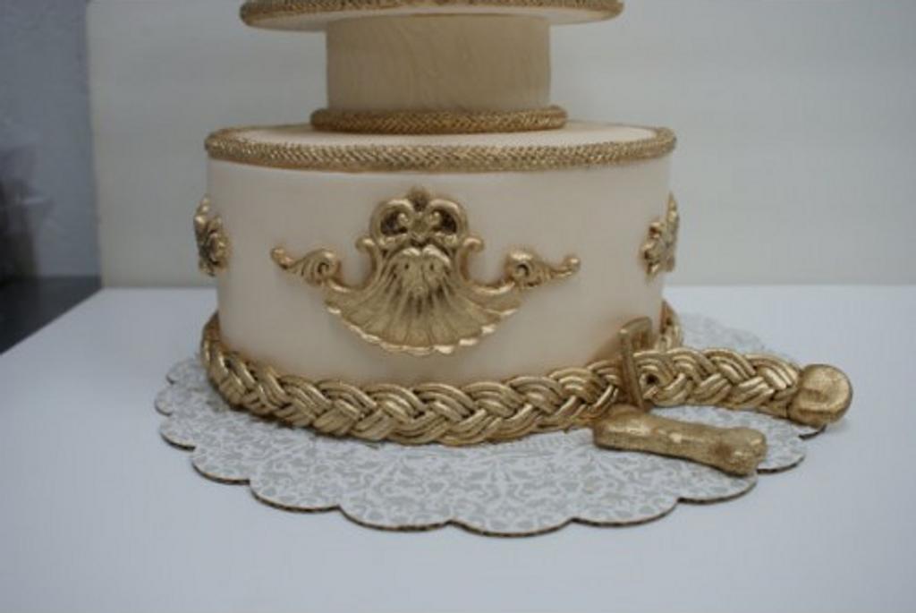 Rockstar Puppy Designer Dog Cake