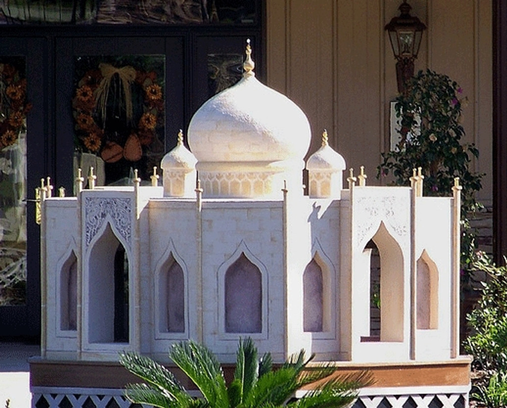 taj mahal dog house