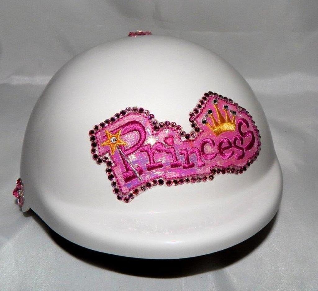White Princess Dog Helmet