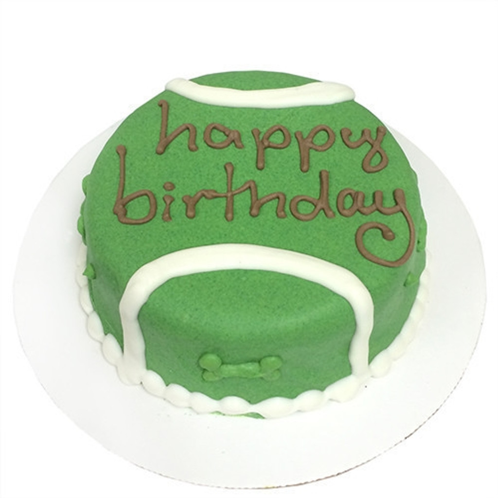Admirable Doggie Birthday Cakes Tennis Ball Dog Birthday Cake Personalised Birthday Cards Veneteletsinfo