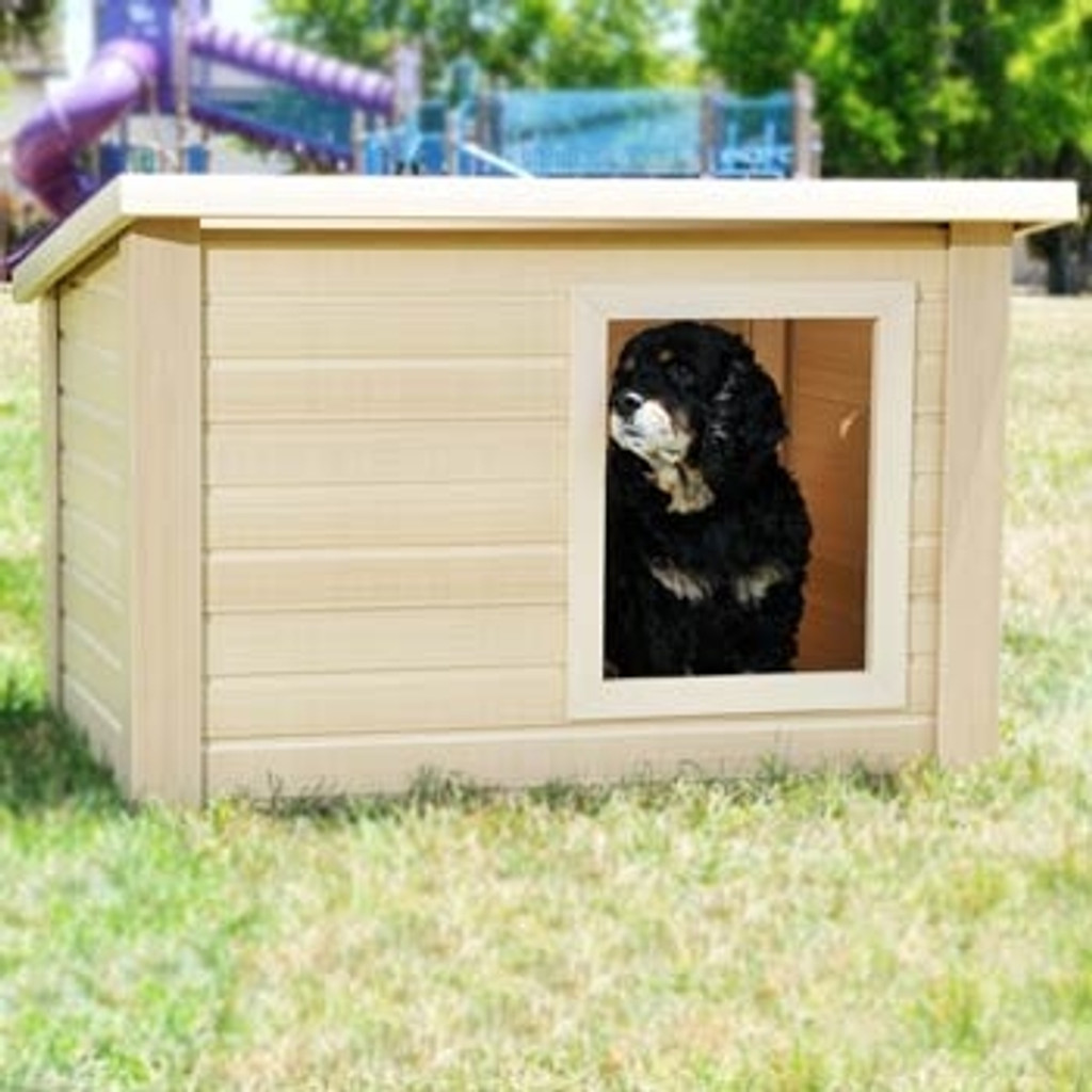 Rustic Lodge Dog House - Many SIzes Available