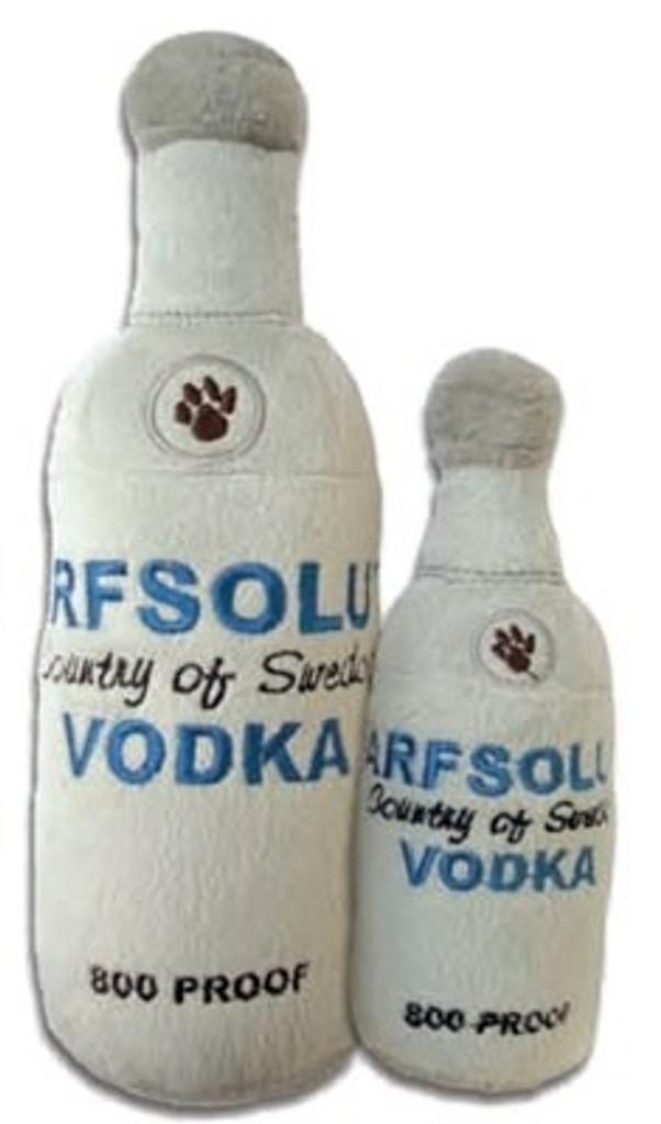 Arfsolut Vodka Dog Toy