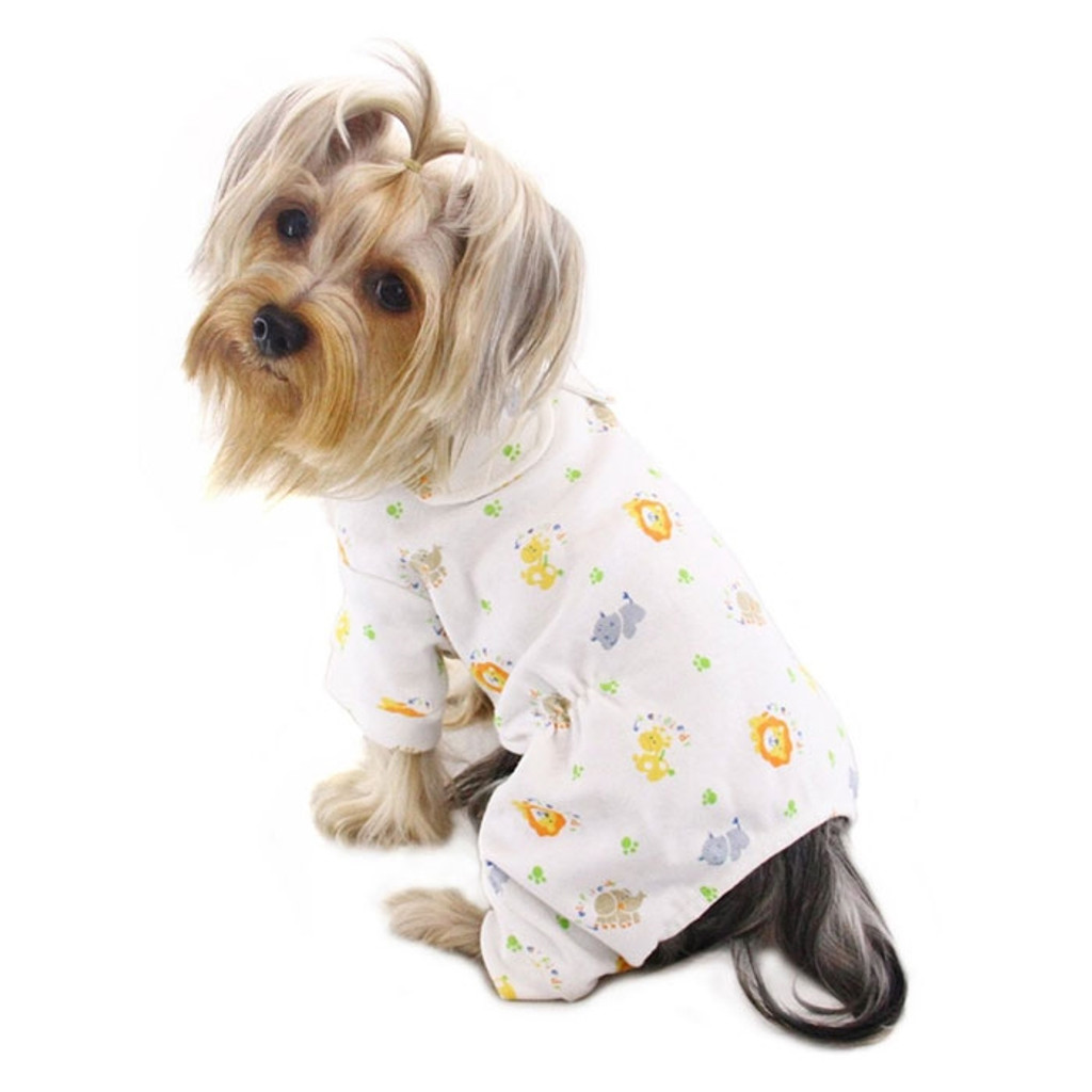 Dog Pajamas   Jungle Animals Dog Pajamas