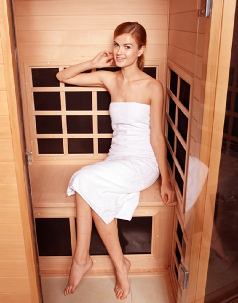 Clearlight Infrared Sauna Nordic Spruce CE-1 for 1 Person + Small Pet