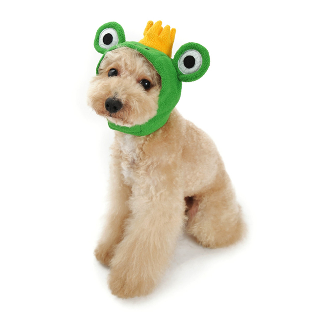 prince frog hat for dogs