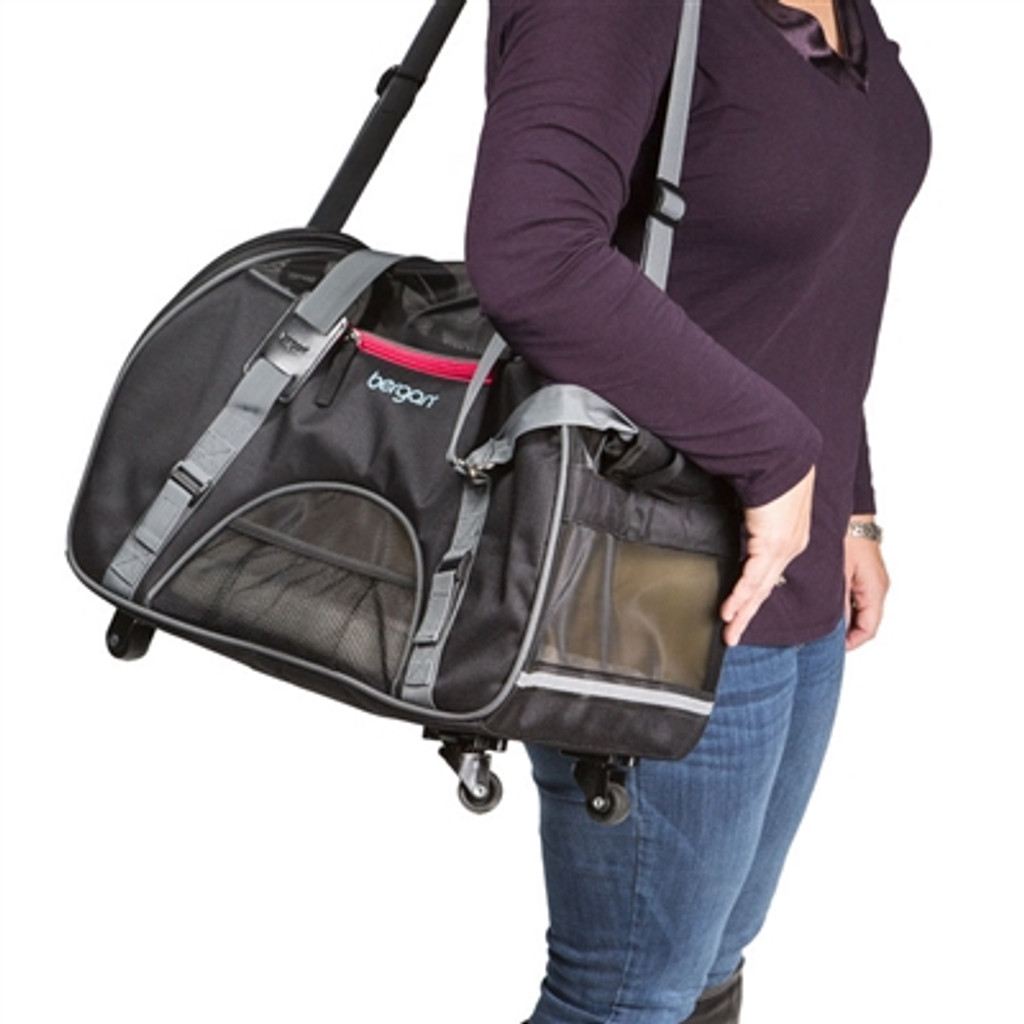 Dog Carrier | Wheeled Travel Dog Carrier