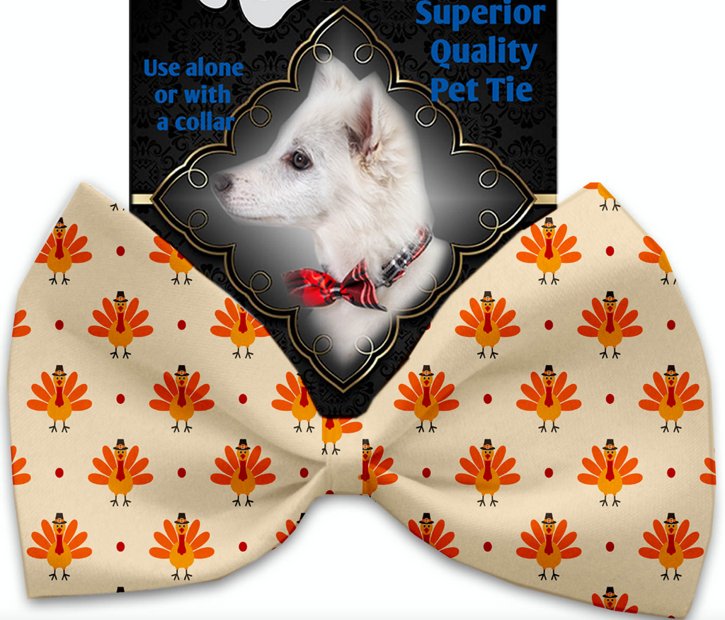 Turkey Trot Pet Bow Tie