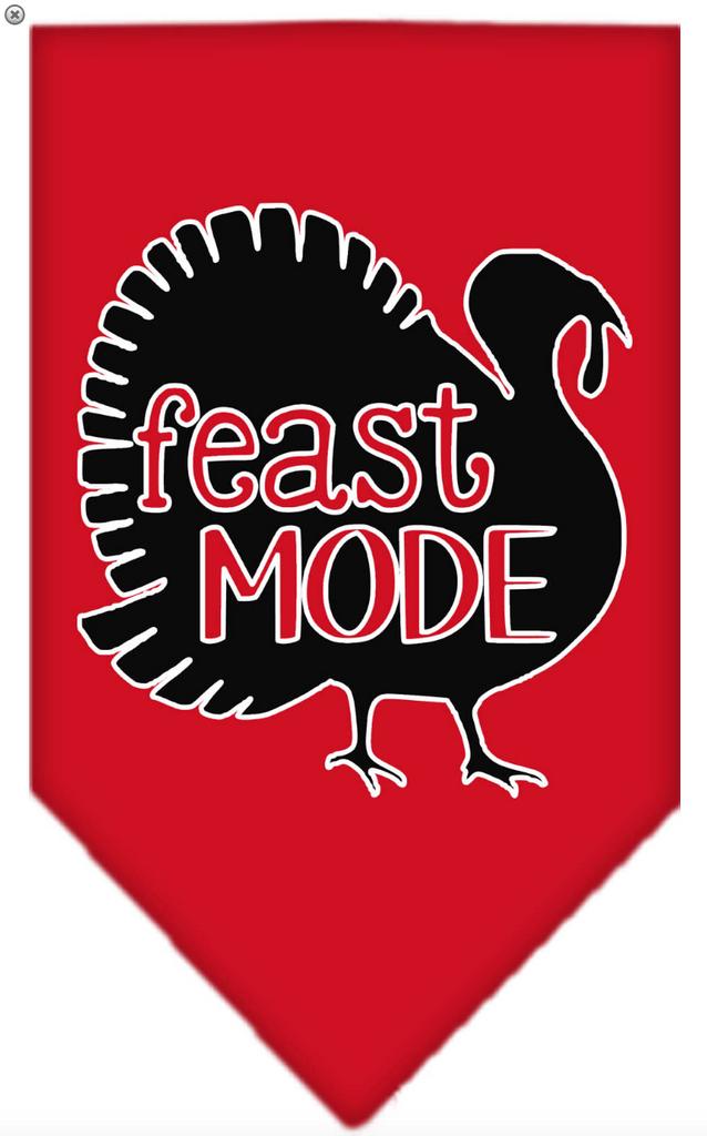 feast mode pet bandana