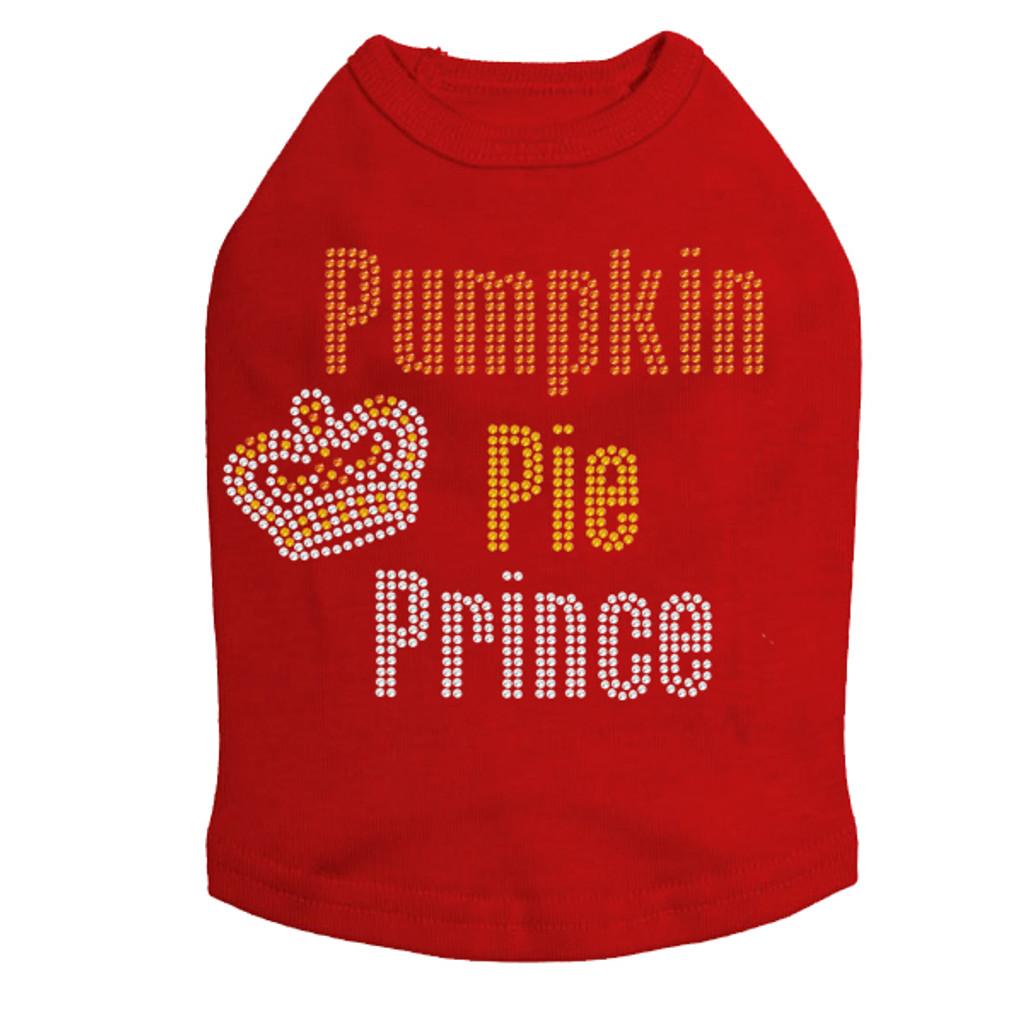 Pumpkin Pie Prince rhinestone tank (many colors)