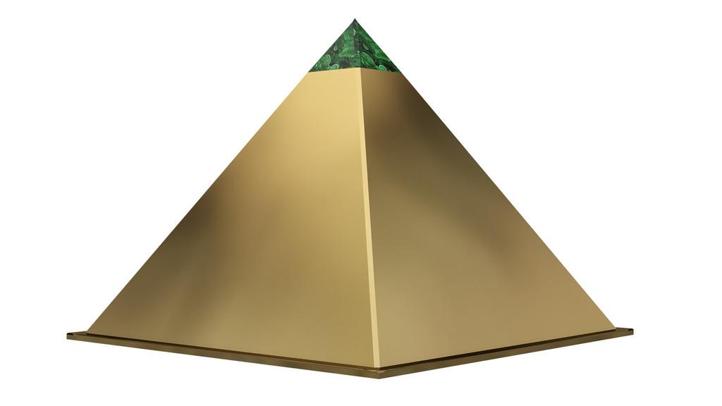 custom pyramid dog house