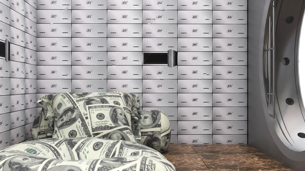 bank vault dog house interior