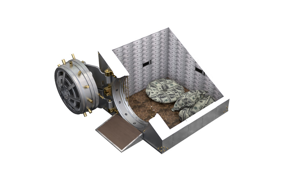 bank vault dog house slice