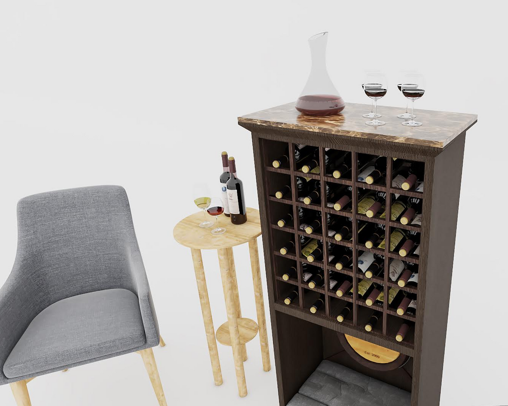 dog bed wine rack