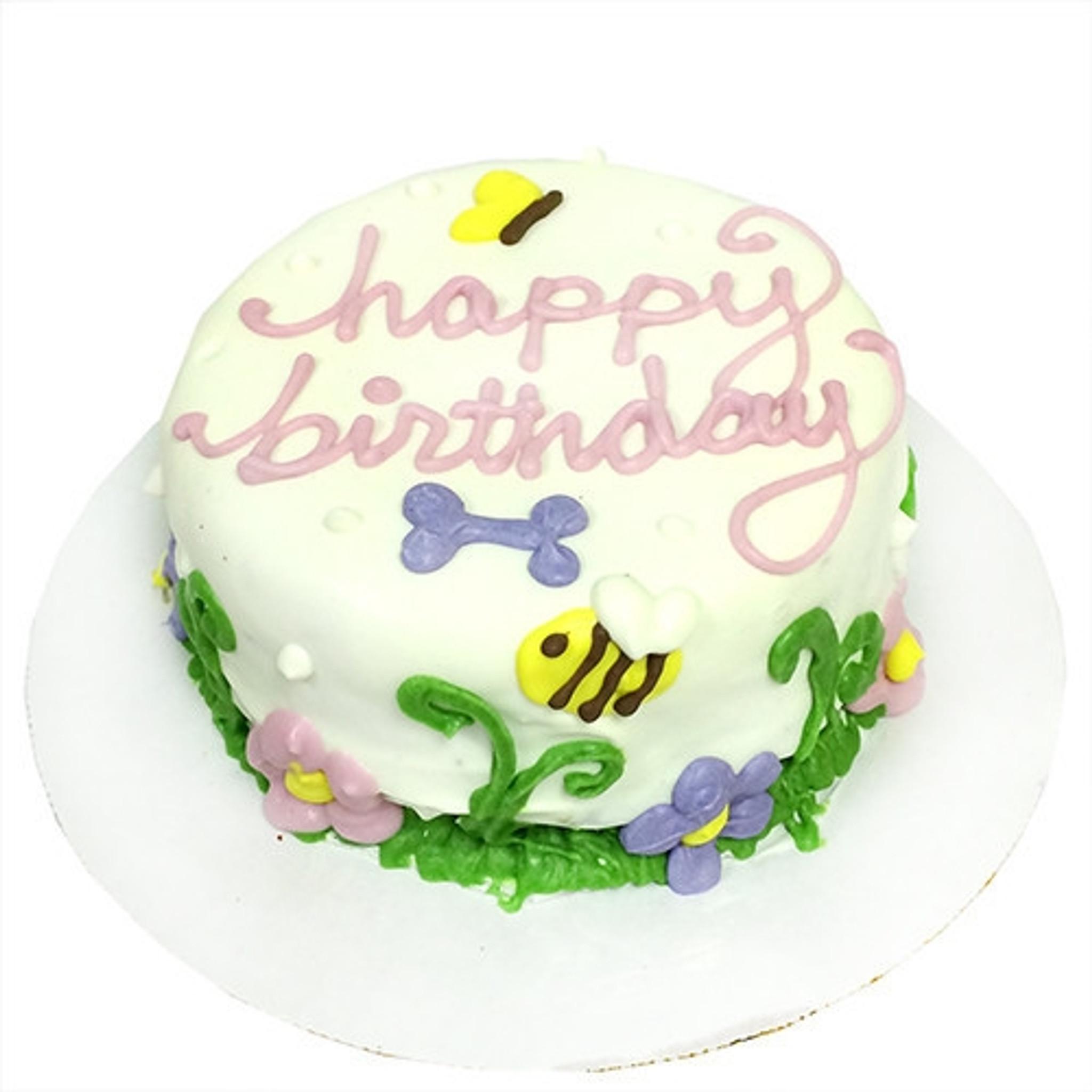 Fine Doggie Birthday Cakes Garden Party Dog Birthday Cake Funny Birthday Cards Online Necthendildamsfinfo