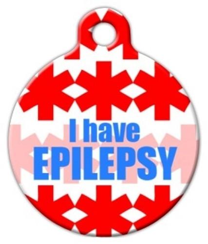Epilepsy Medical Alert Dog ID Tag