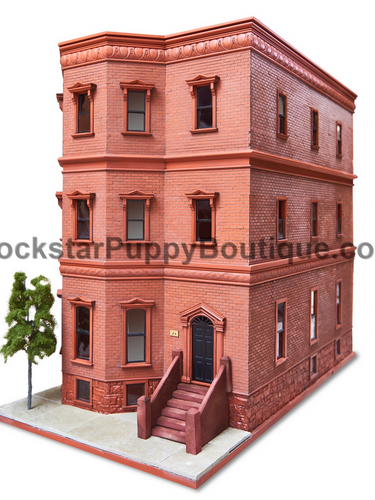 Brooklyn Brownstone Dog House