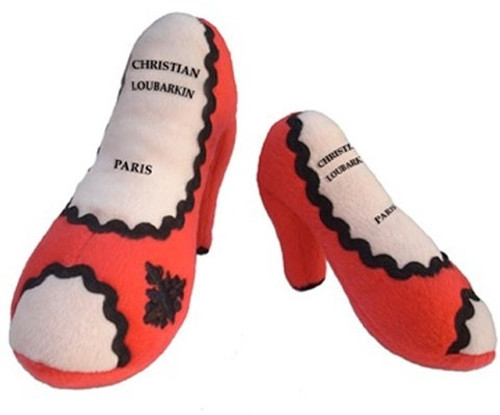 Christian Loubarkin Shoe Dog Toy