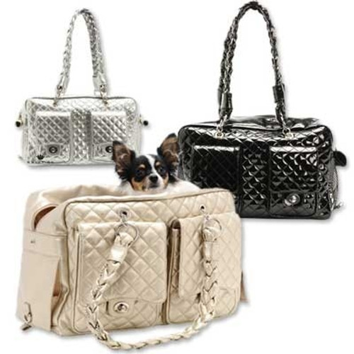 Dog Carrier | Pet Royalty Alex Luxe Dog Carrier