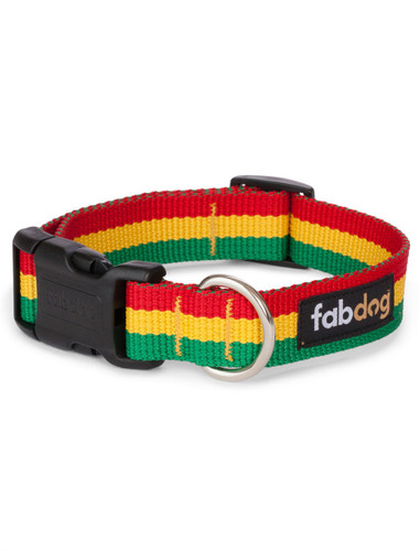 Dog Collar | Rasta Dog Collar