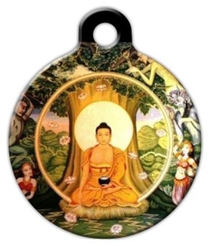 Buddha Dog ID Tag