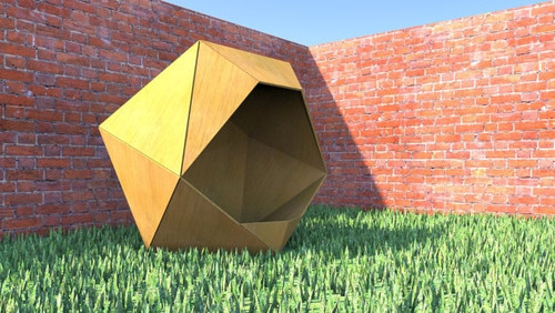 Icosahedron Dog House