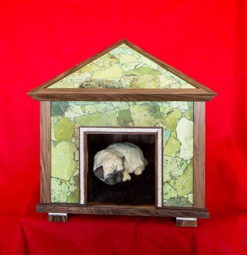 Green Jasper Pet Palace Indoor Dog House