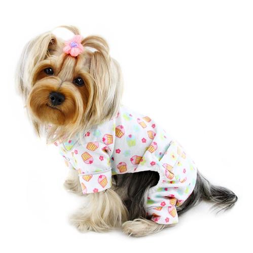 Dog Pajamas | Flannel Cupcakes Dog Pajamas