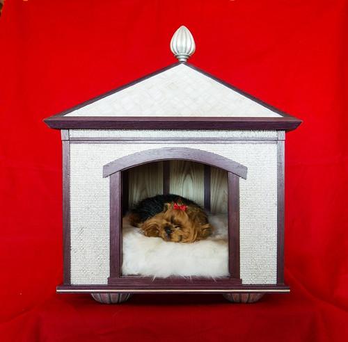 Swarovski Crystal Pet Palace Indoor Dog House