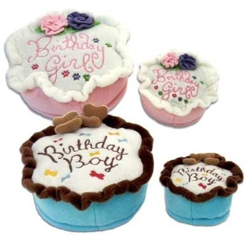 Dog Toy | Birthday Cake Dog Toy