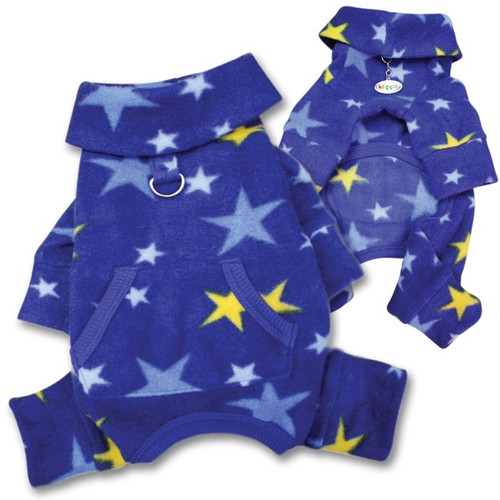 Dog Pajamas | Fleece Stars Dog Pajamas
