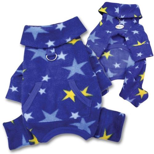 Dog Pajamas | Fleece Stars Dog Pajamas
