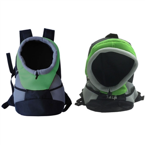 Green DOG BACKPACK CARRIER