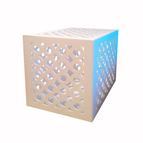 Designer Dog Crate | infinity dog crate