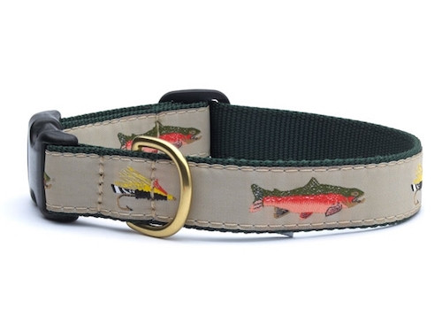 Dog Collar | Fly Fishing Dog Collar