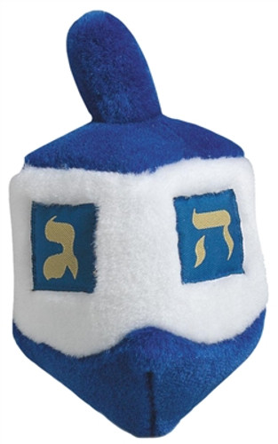 dreidel dog toy