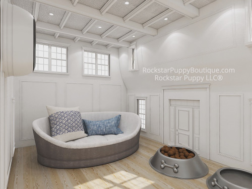 custom dog house interior design