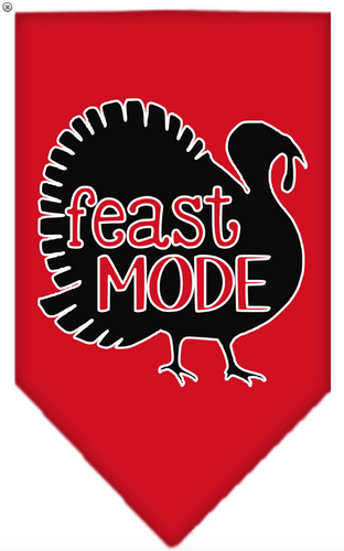 feast mode pet bandana