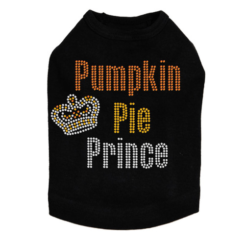 pumpkin pie prince dog tank