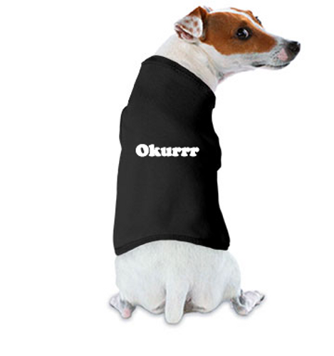 okurrr dog tank top shirt