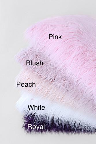 Mongolian Lamb Faux Fur Dog Bed Colors