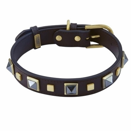 hematite dog collar
